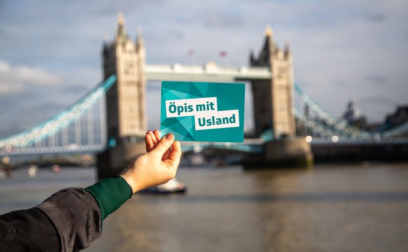 JJS machen in London «Öpis mit Usland»