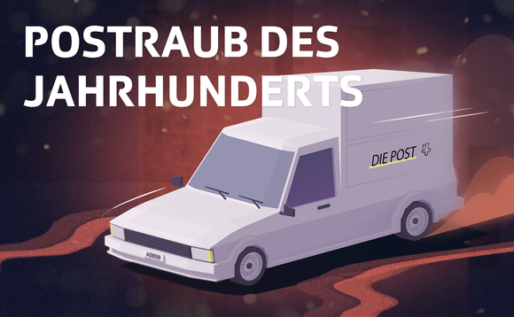 Keyvisual vom Podcast: Illustration eines Postwagens