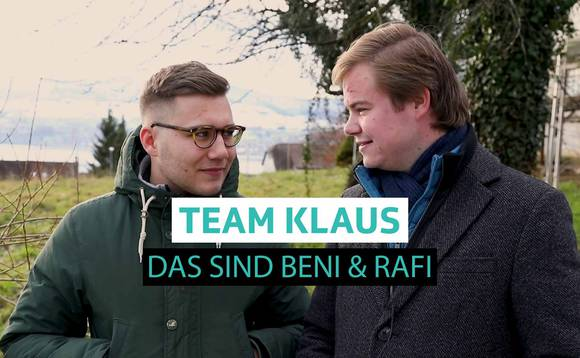 Das Podcast-Duo «Team Klaus»